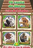 Mi Casita de Libros de Crias de Animales (Spanish Edition)