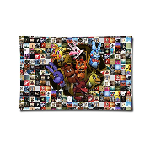 five-nights-at-freddy-square-throw-pillow-case-3020inch