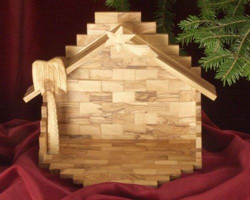 Presepi Di Legno Betlemme : Presepe betlemme cm bue in legno della valgardena decorato a