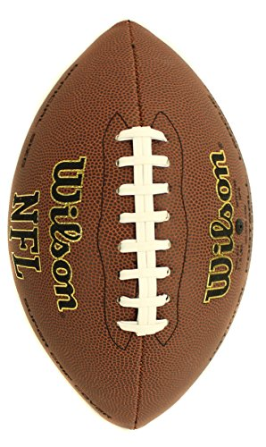 New Ball Wilson Wtf1795 Nfl Official Size Super Grip Composite Leather Game Football