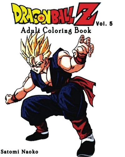 NEW Dragon Ball Z Adult Coloring Book Series Vol5