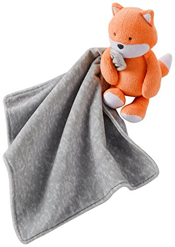 Carters Fox Security Blanket No Size Grey/orange - 1