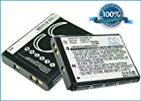 Battery for Nikon Coolpix S3100, 3.7V, 700mAh, Li-ion