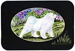 Carolines Treasures SS8059JCMT Samoyed Kitchen or Bath Mat, 24 by 36 , Multicolor