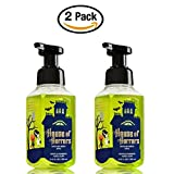 Bath & Body Works Halloween Soap, 8.75 Ounce, Pack Of 2 House Of Horrors Foaming Hand Soaps - Eerie Apple Haunted...