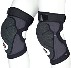 SixSixOne Evo Knee Black Soft Shell Pad by SixSixOne