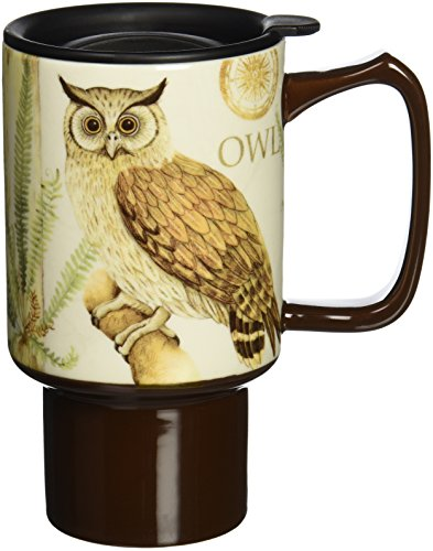 Lang 2127017 Owl Travel Mug