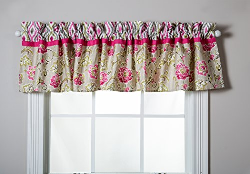Trend Lab Waverly Jazzberry Window Valance - 1