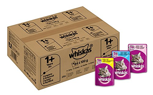 whiskas-wet-cat-food-84-x-100-g-pouch-for-1-adult-mixed-selection-in-jelly