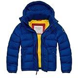 アバクロンビー&フィッチ Abercrombie&Fitch アバクロ メンズ ダウンジャケット アウター Ranney Trail Jacket ブルー Lサイズ 並行輸入品 VITA407-BLUE-L
