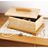 Secret-Compartment Jewlery Box: Downloadable Woodworking Plan