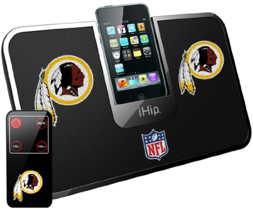 Ihip Official Nfl Pittsburgh Steelers Portable Idock Stereo