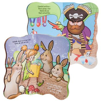 Kids Die-Cut Big Board Books (Pirates (Treasure of rock Island))