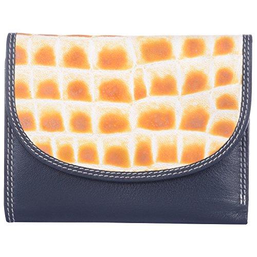 Leder Mart 2401 Women's Wallet (Black, FL014)