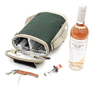 Greenfield Collection Wine Cooler Bag by Greenfield Collection