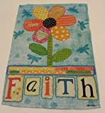 "Meadow Creek Decorative Garden Flag ""Faith"" 12.5"" x 18"""