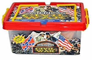 Civil War Playset in Carrying Case