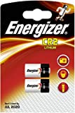 2 X Energizer CR2 3V Lithium Photo Batteries photography