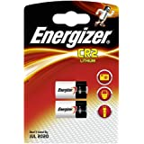 2 X Energizer CR2 3V Lithium Photo Batteriesby Energizer