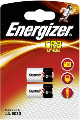 Energizer Lot de 2 piles CR2 Photo Lithium 3V