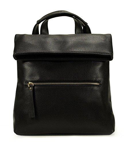 Scarleton Fashionable Front Fold Backpack