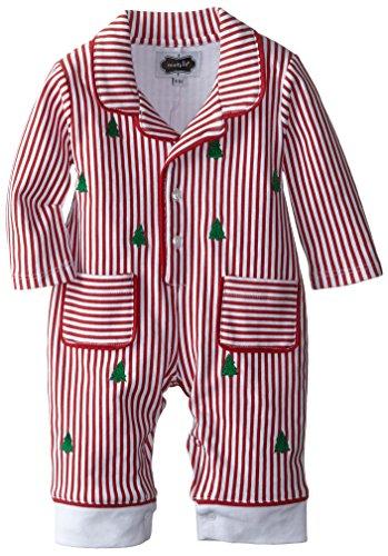 mud pie baby boys newborn night before christmas pajama red 6 9 - Mud Pie Christmas Pajamas