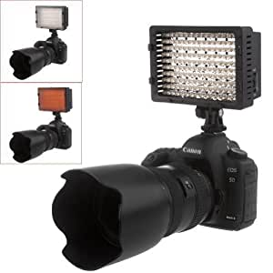 NEEWER® 160 LED CN-160 Dimmable Ultra High Power Panel Digital Camera / Camcorder Video Light, LED Light for Canon, Nikon, Pentax, Panasonic,SONY, Samsung and Olympus Digital SLR Cameras