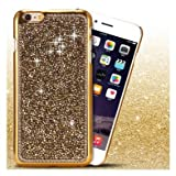 Purple Iphone Cover Case Fancy Mobile Cover Case Crystal Bling Iphone 6(4.7')