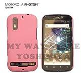 MOTOROLA PHOTON™ ISW11M ハードケース (au by KDDI)【L Pink(ライトピンク)】NEW MODEL