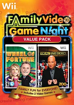 Family Game Night Value Pack: Wheel of Fortune and Deal or No Deal Bundle