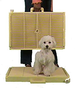 New! Automatic! No Daily Cleaning! No Odor! No Spills! No Work! No Future Costs! Hermetically Sealed! Dog Toilet. Unique one day training