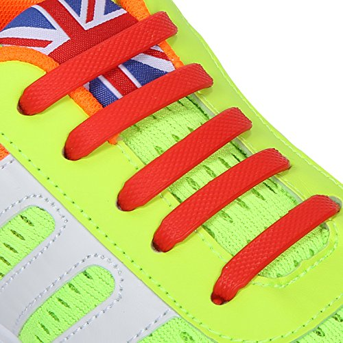 INMAKER No Tie Shoelaces, Silicone Elastic Shoelaces for Kids and Adults, 3 Sizes to Fit All Type of Feet and Shoes (All Types Of Shoes compare prices)