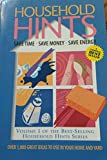 img - for Household Hints: Save Time Save Money Save Energy (Volume 1) book / textbook / text book