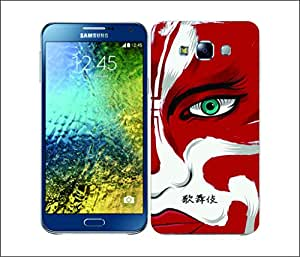 Galaxy Printed 2391 Mix Mask Hard Cover for Samsung S3