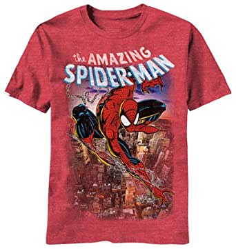 T-Shirt - Spiderman - Spiderscene 2XL