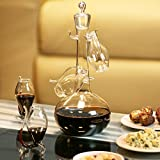 Port Sipper Set with Four Sippers | bar@drinkstuff Port Glasses, Port Sipper Set, Port Sippers, Port Decanter, Liqueur Decanter | Handmade Glass Port Decanter