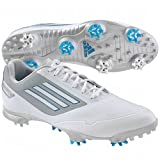 adidas Mens Adizero One Golf ShoeWhite/Dark Solar Blue/Tech Grey,11 M US