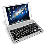 Caseflex Ultra Thin iPad Mini Bluetooth Keyboard  With Magnetic Grip, Adjustable Holding Stand For iPad Mini, Mini 2 & Mini 3