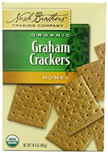Nash Brothers Trading Organic Graham Cracker, Honey, 14.4 Ounce