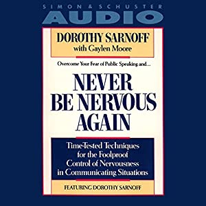 Never Be Nervous Again Audiobook