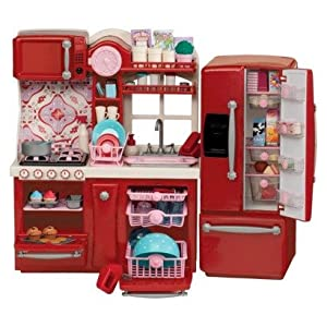 Our generation kitchen play set toys games for Kitchen set games