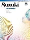 Suzuki Violin School 3, Revised Edition mit CD (Suzuki Violin School, Violin Part)