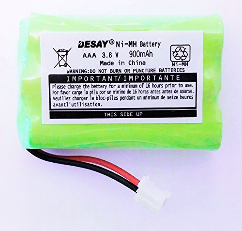 MOTOROLA battery for baby monitor models MBP33 MBP33S MBP36S MBP-33S MBP-36S MBP33BU MBP33P MBP35 MBP35T MBP36 MBP36PU MBP41 MBP41BU MBP41PU MBP43 MBP43BU ((3.6V NIMH 900Mah)) *****ships from the usa**** - 1