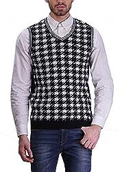 TSAVO Men's Cotton Sweatshirt SKU_SL04_BLACK_S