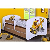 kidsaw kinder mit aufgedrucktem jcb bagger motiv f r. Black Bedroom Furniture Sets. Home Design Ideas