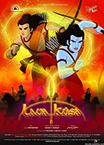 Lava Kusa: The Warrior Twins (Mythological, Animated Hindi Film / Bollywood Movie / Indian Cinema DVD)