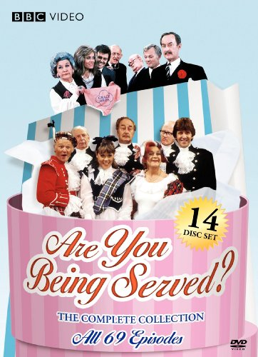 Cover art for  Are You Being Served? The Complete Collection