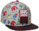 Concept One Boys' Big Hero 6 Sublimated Flat Brim