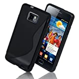 GADGETSNTECHS NEW SAMSUNG GALAXY S2 SI9100 PREMIUM QUALITY AND STYLISH S LINE GEL CASE INCLUDED | COVER | SKIN^^INCLUDED SCREEN PROTECTOR AND POLISHING CLOTH^^FREE UK SHIPPING(GET ORIGINAL QUALITY CASE FROM GADGETSNTECHS) phones