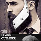 Beard Outliner Kit / 2 Beard Styles/ROUND AND SQUARE set All-In-One Tool | The Beard Care & Grooming Gift Kit For Any Beard Bro | Use With A Beard Trimmer Or Razor To Style